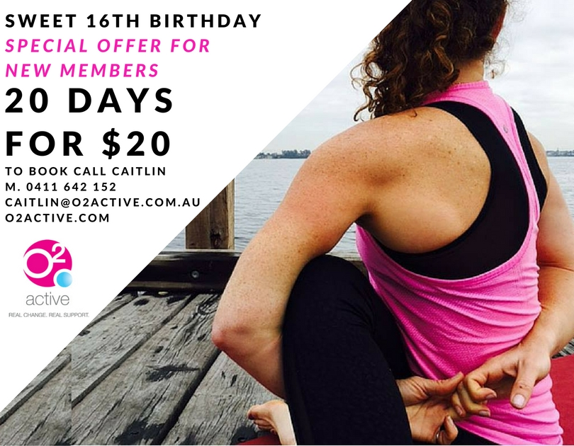 It's our birthday… 20 days for $20!